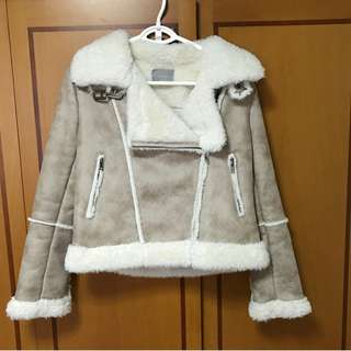 BN Korean Stylish Winter Outer Coat In Nude Brown (Imported, Not Avail In SG!)
