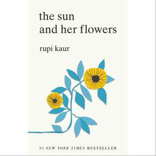 [Instock] The sun and her flowers by Rupi Kaur