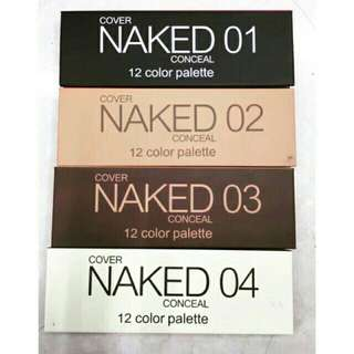 Naked Cover Eyeshadow palette