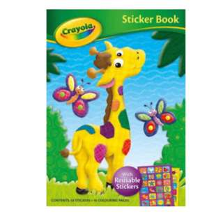 (BNEW) Crayola Sticker Book