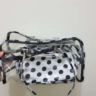Make up bag set /storage bag set isi 3