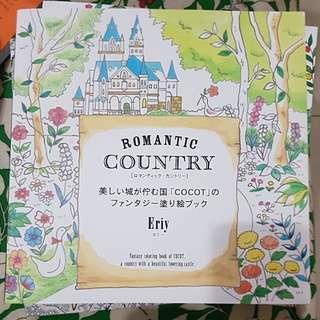 Romantic Country Japan. Mewarna untuk hilangkn stress