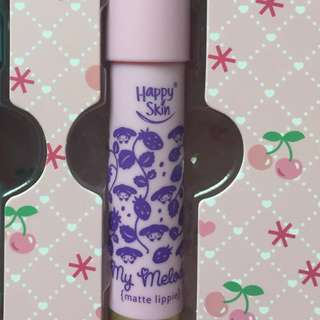 Happy Skin Matte lipstick