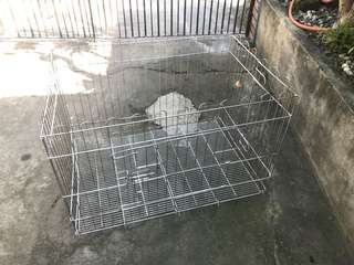 Dog cage and dog fence