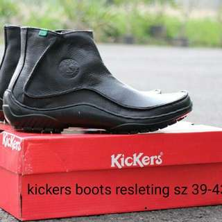 Kickers Boots Resleting sz 39-43