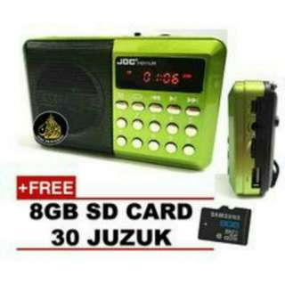 Al Quran Digital Radio Portable