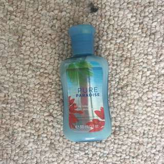 Bath and Body Works Pure Paradise body lotion