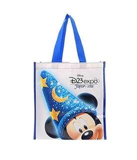 日本 Disney Store 直送 D23 Expo Japan 2018 魔法米奇環保袋