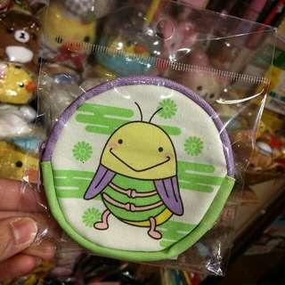 100% 原裝 日本 邪留丸 系列 蟋蟀仔  系列Coins Bag 帆布料 散子包 小王子
