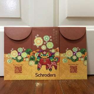Schroeders Red Packets