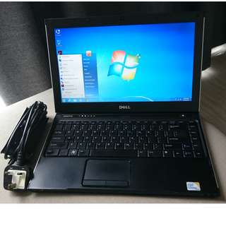 Dell Vostro V13 Laptop (w/ newly replaced battery, good condition)