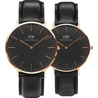 Daniel Wellingtons Classic男女情侶裝錶