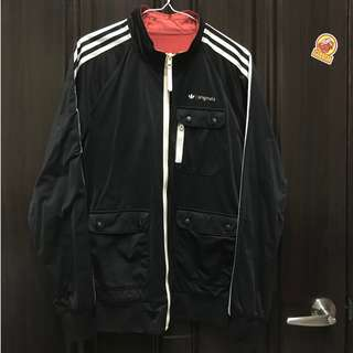 (二手)adidas Originals Reversible Track Jacket 可雙面穿 外套 夾克