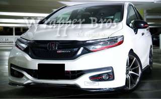 Customise FRONT GRILLE - EMBLEM for honda shuttle