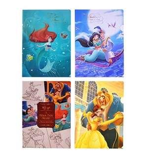日本 Disney Store 直送 D23 Expo Japan 2018 公主系列 A4 File Set