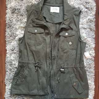 New Military Green Vest