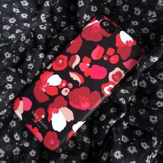 Kate Spade Red Floral Phone Case [iPhone Samsung]