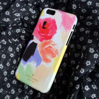 Kate Spade Colourful Floral Sketch Phone Case/iPhone Samsung