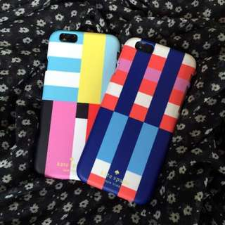Kate Spade Colourful Lines Phone Case [iPhone Samsung]