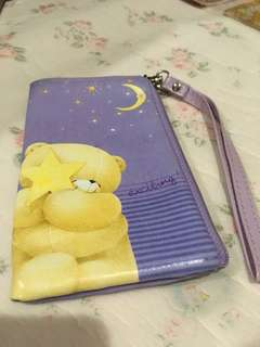 Small Forever Friends Pouch with zipper