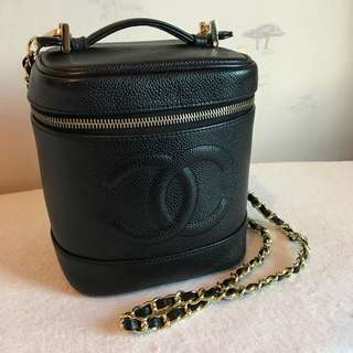 Chanel vintage bucket bag