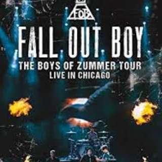 Fall Out Boy - The Boys Of Zummer Tour Live In Chicago DVD Brand NEW sealed