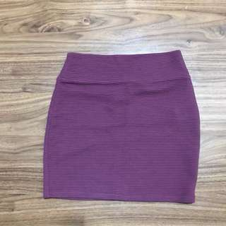 Cotton On Purple/Violet Skirt