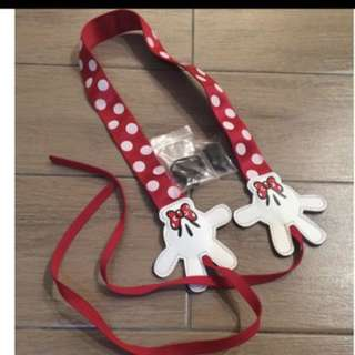 Mickey Minnie camera strap- PO