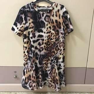 ZARA LEOPARD DRESS