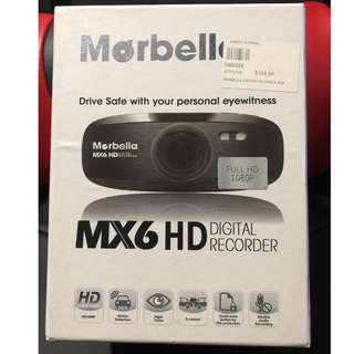 Morbella MX6 HD Car Recorder