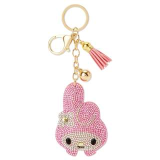 [PO] Japan Sanrio My Melody Glitter Leather Key Holder