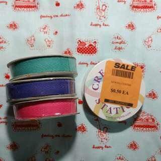 *Destash Ribbon Collection - various designs*