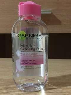 Garnier, micellar water, cleanser