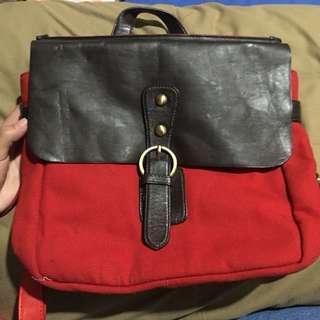Sling bag / ransel (bisa 2 model)