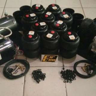 Airgen Airsuspension 2 ch / 4 ch