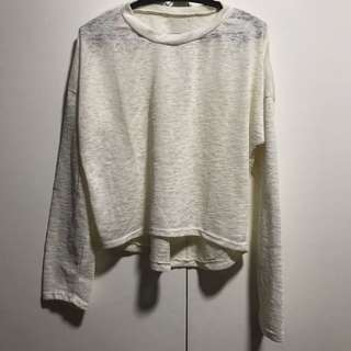 Pullover Top (Off White)