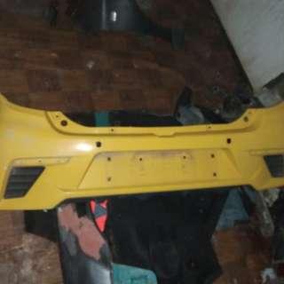 Axia se rear bumper