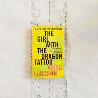 The Girl With A Dragon Tattoo by Stieg Larsson