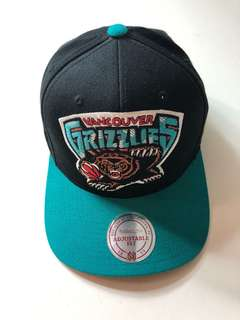Mitchell & Ness Grizzlies Adjustable Snapback