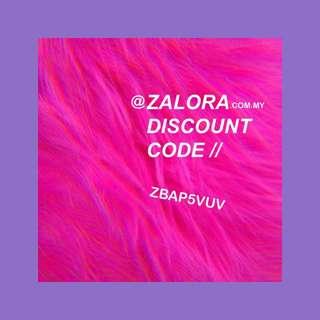 Zalora discount code (2)