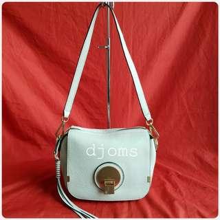 CHLOE INDY OFF WHITE CAMERA BAG SHOULDER BAG