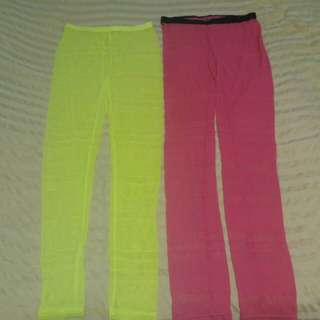 100%New Korea leggings 30/2pcs