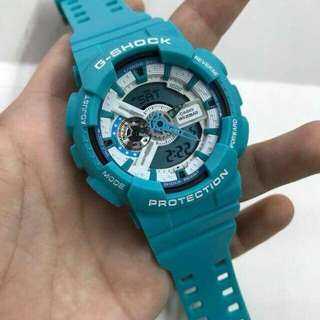 Gshock ga110 breeze green & denim edition