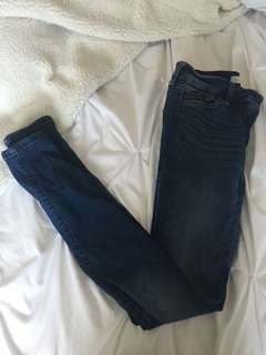 Abercrombie medium wash Jeggings
