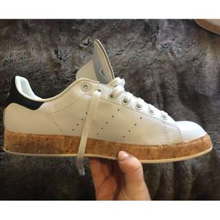 Adidas Stan Smiths with Cork wrapped midsole