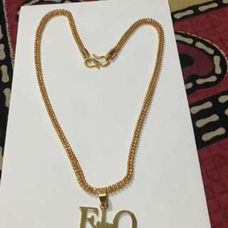 F**K Off - 18k Gold Plated Necklace