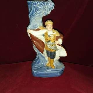 纷彩杨子龙灯柱塑像 -文革辉煌的艺术创作