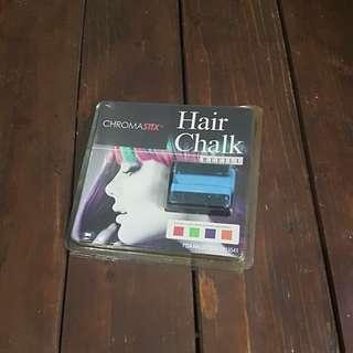 Blue Hair Chalk