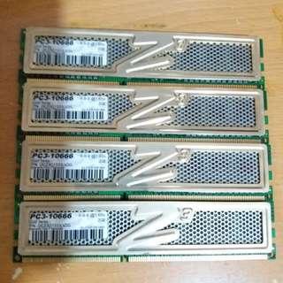 OCZ DDR3 1333 2GB×4