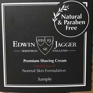 Edwin Jagger Premium Shaving Cream Sandalwood - The English Shaving Company / Edwin Jagger Sheffield England